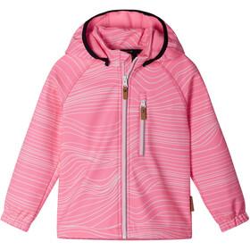 Reima Vantti Veste Softshell Enfant, neon pink